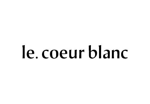 le coeur blanc ルクールブラン