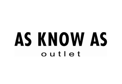 AS KNOW AS outlet アズ ノゥ アズ アウトレット