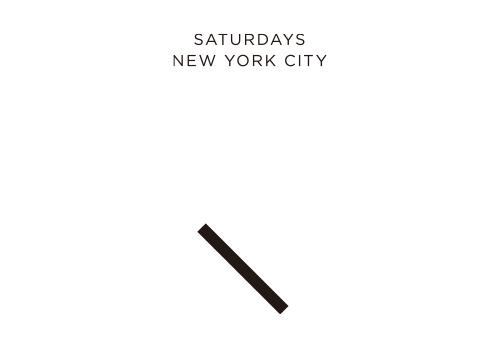 Saturdays NYC サタデーズ ニューヨークシティ